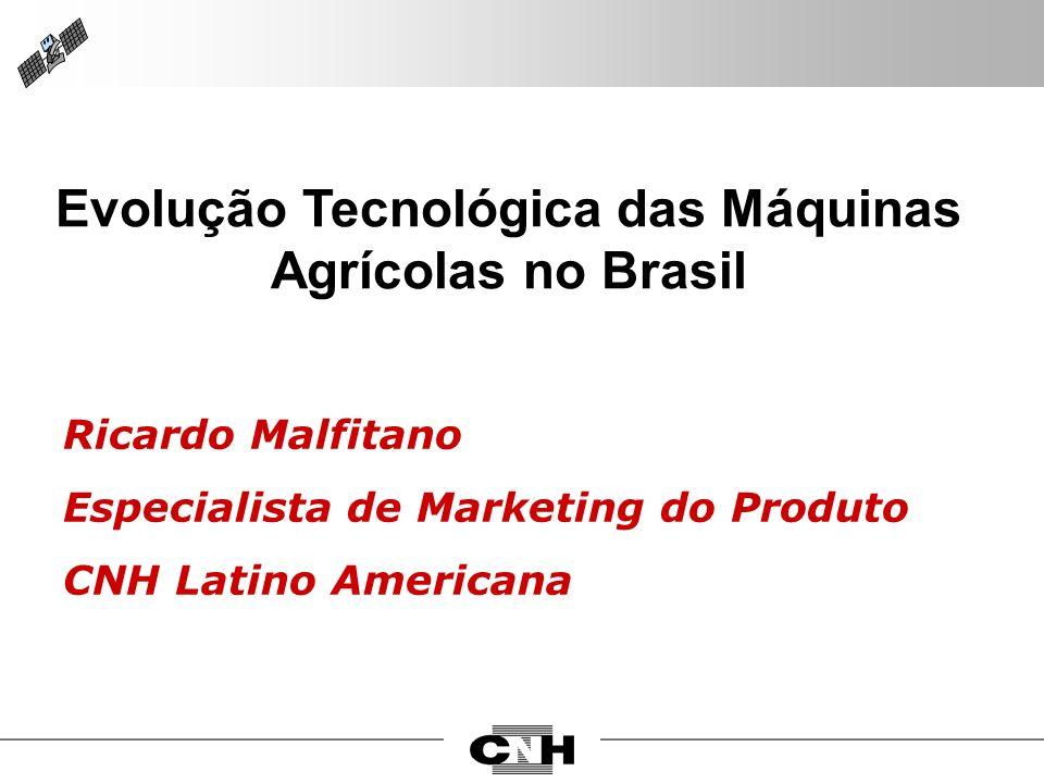 Evolução Tecnológica das Máquinas Agrícolas no Brasil
