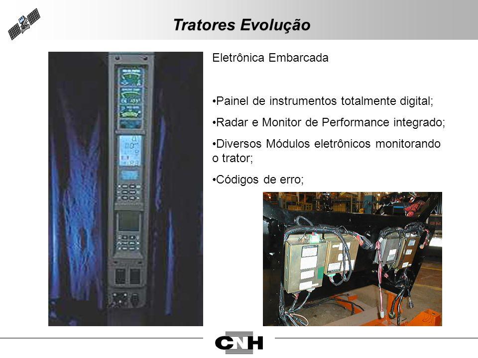 Tratores Evolução Eletrônica Embarcada