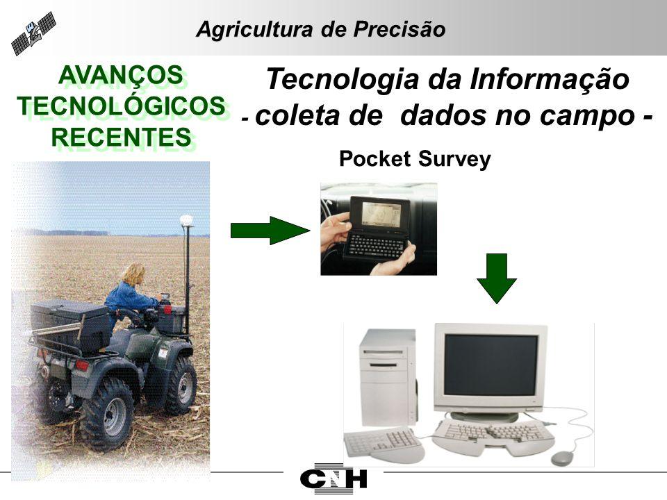 Tecnologia da Informação - coleta de dados no campo -