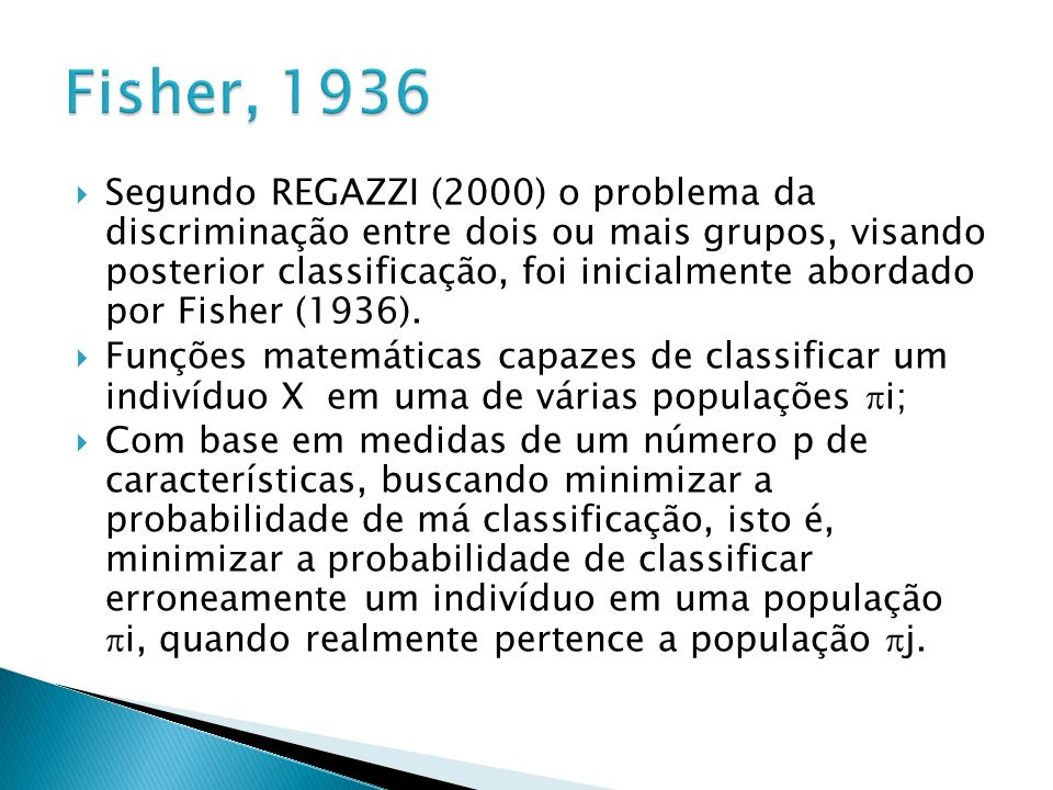 Fisher, 1936