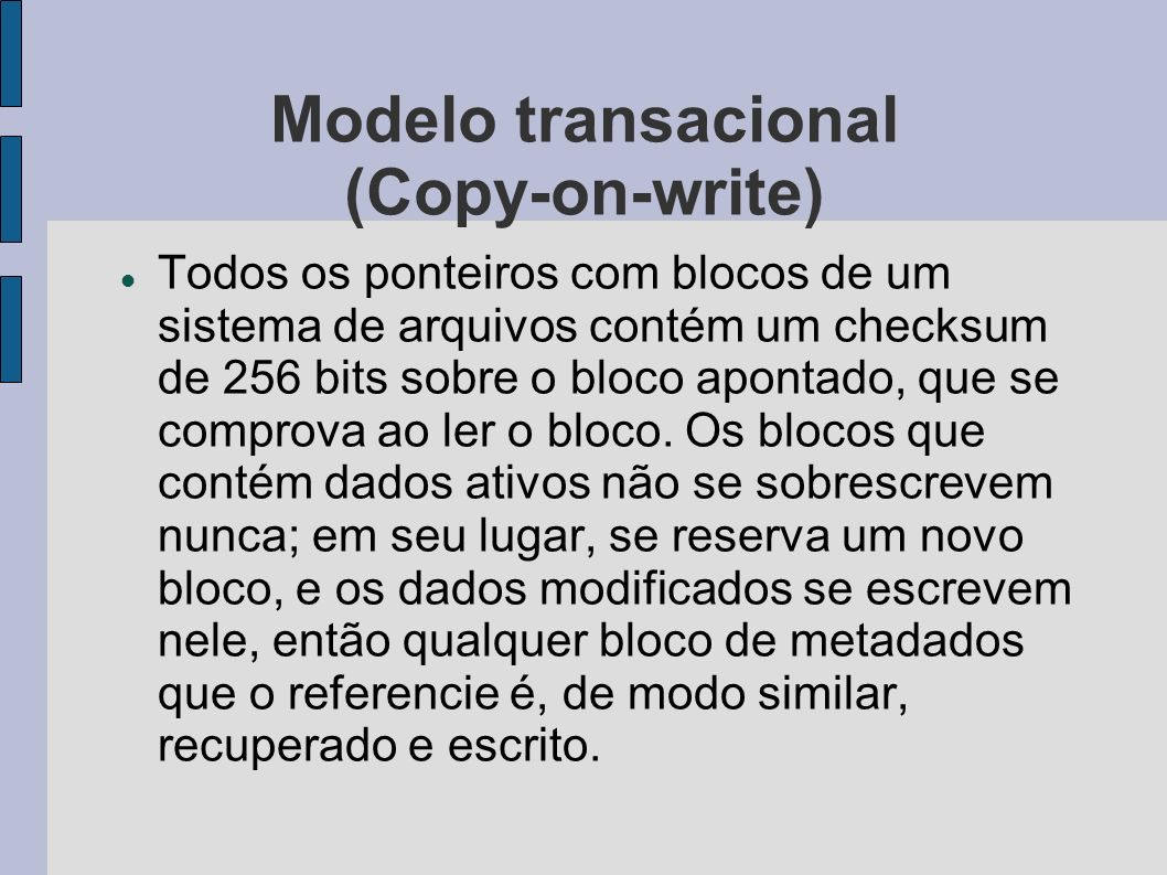 Modelo transacional (Copy-on-write)