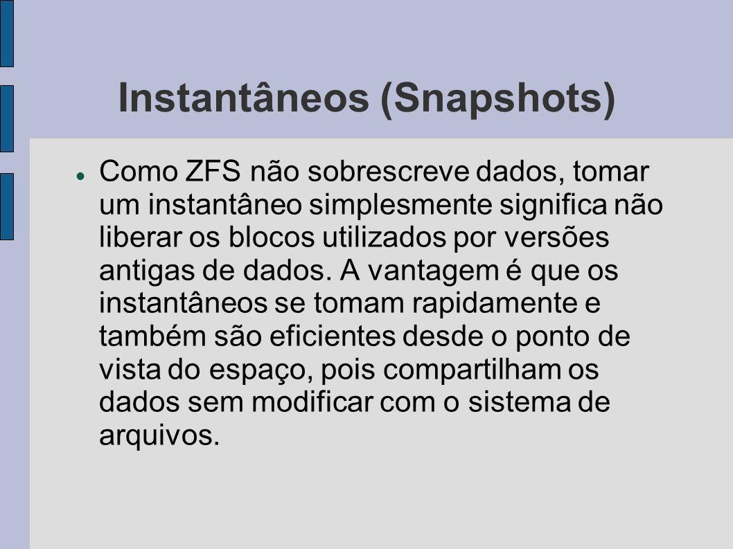 Instantâneos (Snapshots)