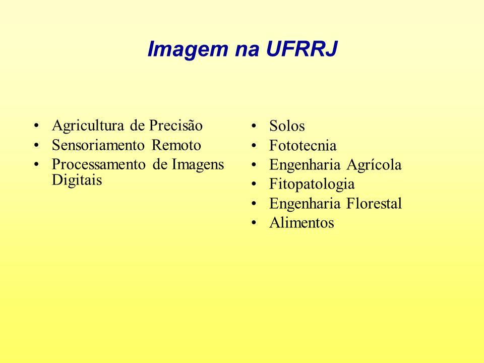 Imagem na UFRRJ Agricultura de Precisão Solos Sensoriamento Remoto