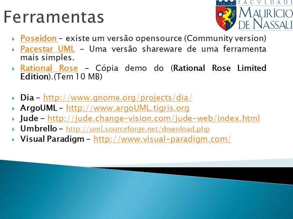 Ferramentas Poseidon - existe um versão opensource (Community version)