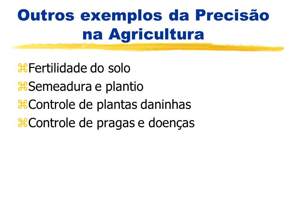 Outros exemplos da Precisão na Agricultura