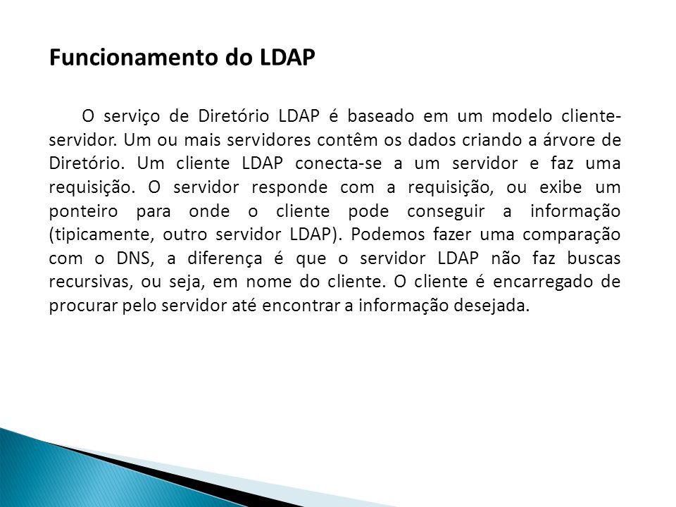 Funcionamento do LDAP