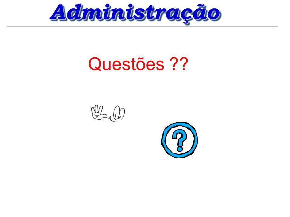 Administração Questões