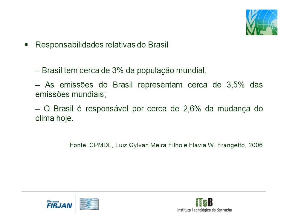 Responsabilidades relativas do Brasil