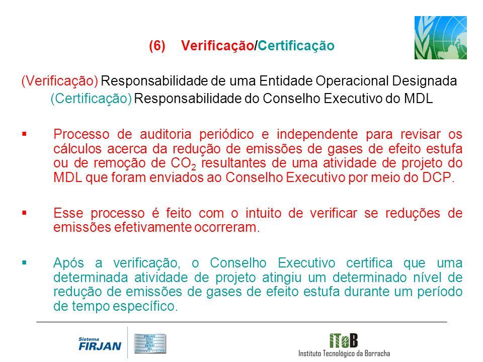Verificação/Certificação