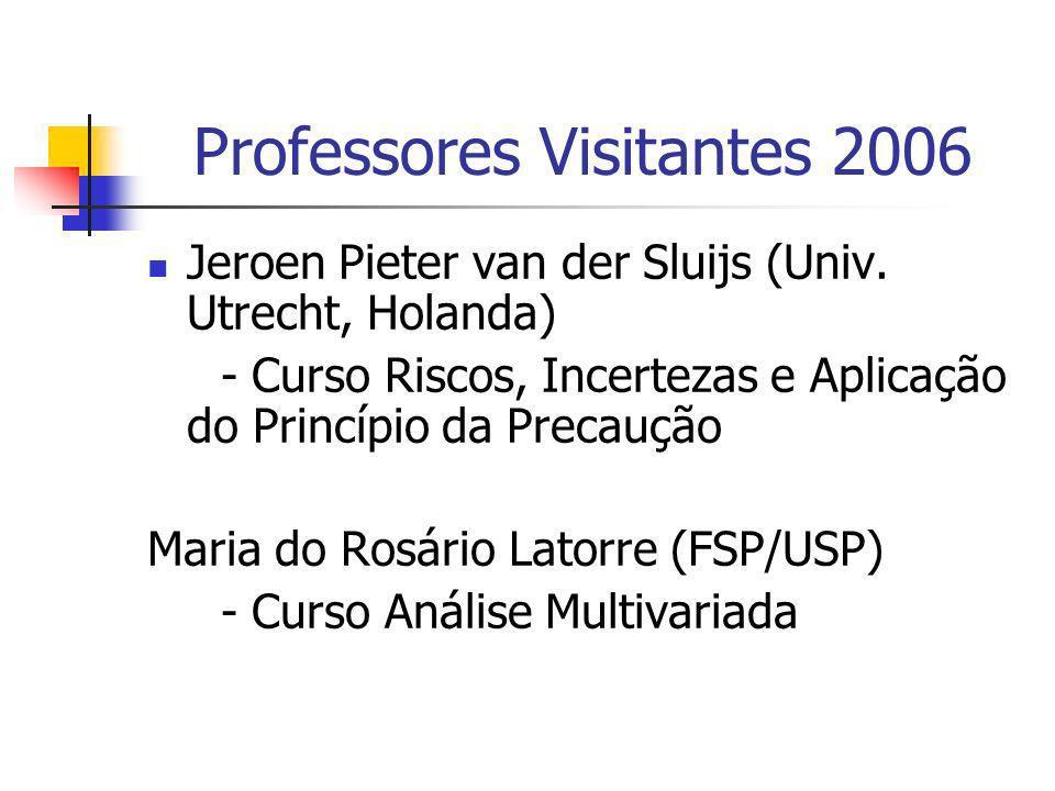 Professores Visitantes 2006