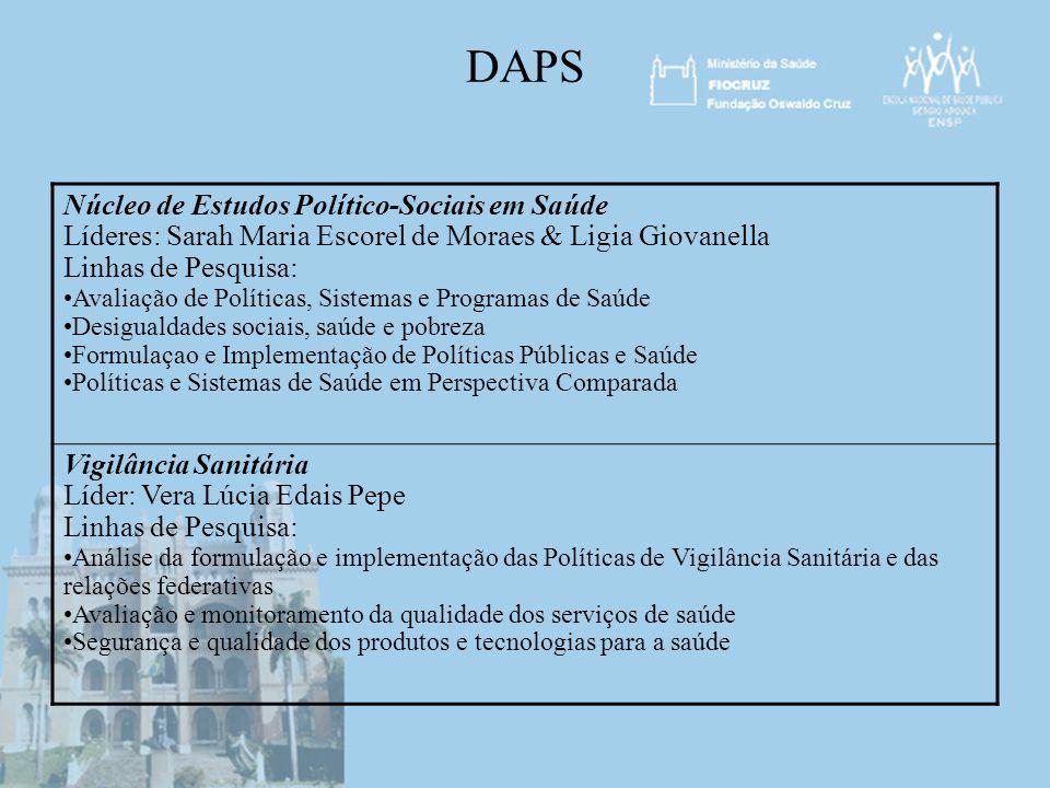 DAPS Núcleo de Estudos Político-Sociais em Saúde