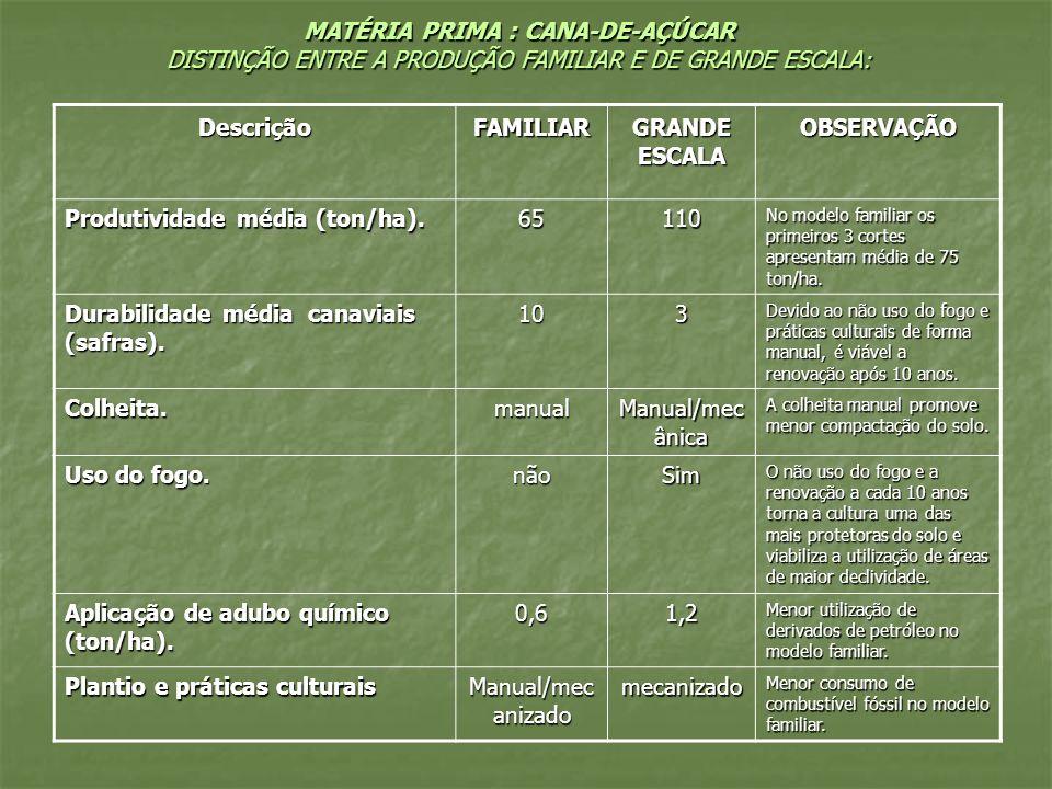 Descrição FAMILIAR GRANDE ESCALA OBSERVAÇÃO