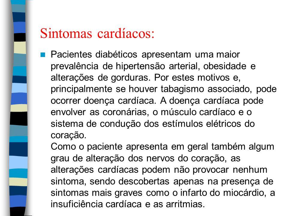Sintomas cardíacos: