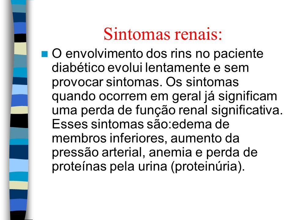 Sintomas renais: