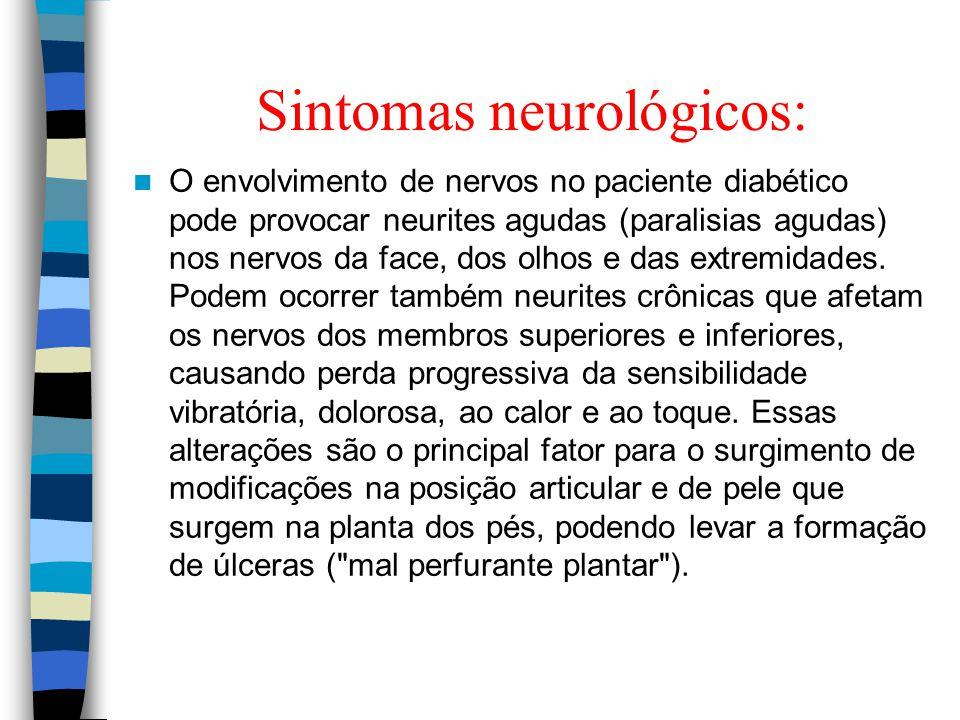 Sintomas neurológicos: