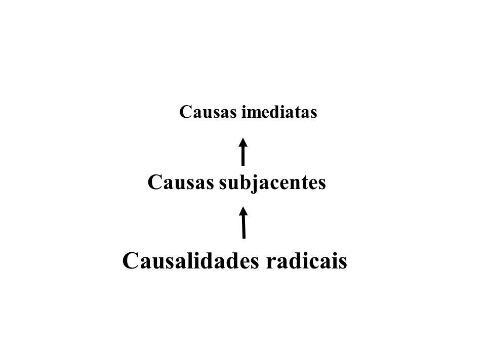 Causalidades radicais