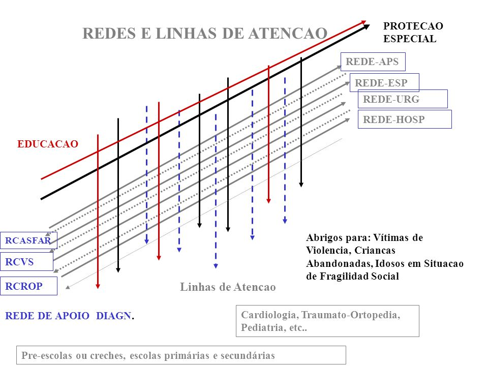 REDES E LINHAS DE ATENCAO