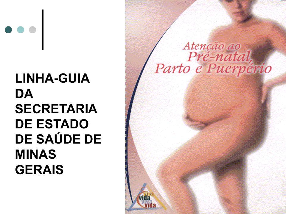 LINHA-GUIA DA SECRETARIA DE ESTADO DE SAÚDE DE MINAS GERAIS