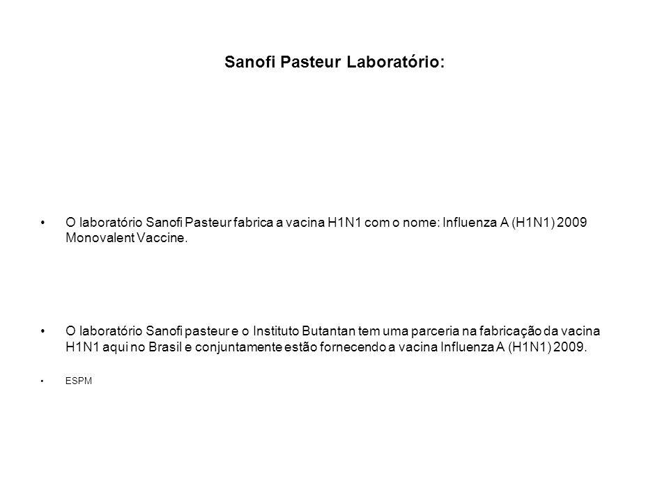 Sanofi Pasteur Laboratório: