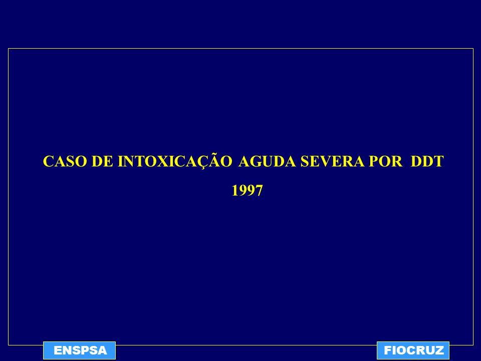 CASO DE INTOXICAÇÃO AGUDA SEVERA POR DDT 1997