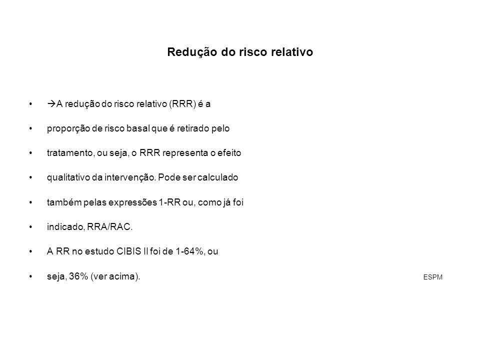 Redução do risco relativo