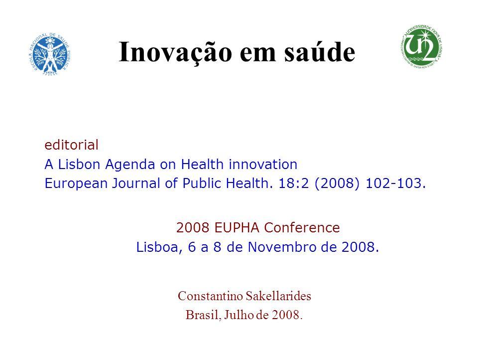 Constantino Sakellarides Brasil, Julho de 2008.