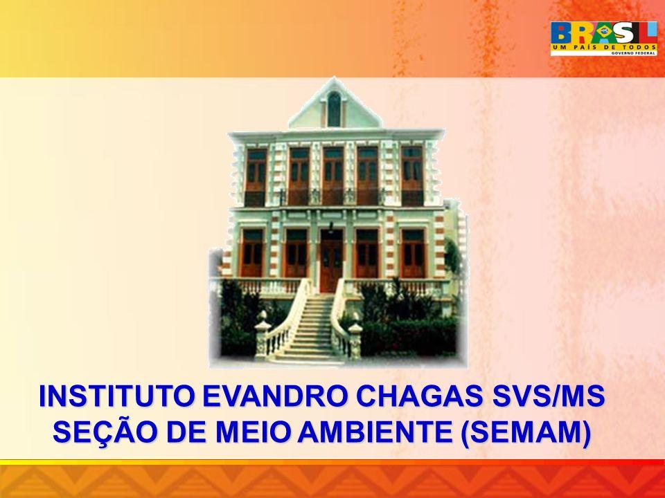INSTITUTO EVANDRO CHAGAS SVS/MS SEÇÃO DE MEIO AMBIENTE (SEMAM)