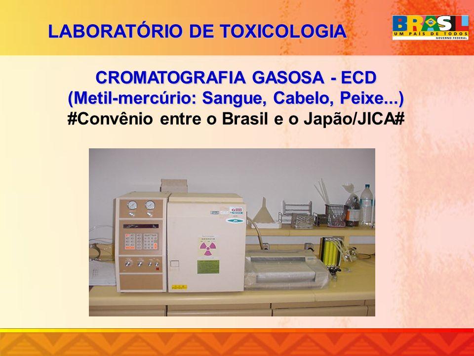 LABORATÓRIO DE TOXICOLOGIA