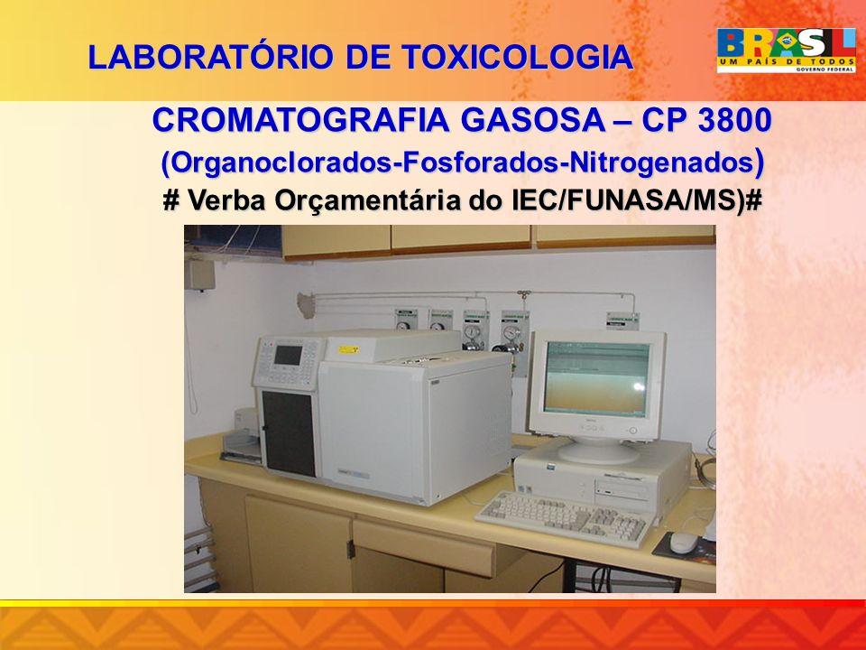 CROMATOGRAFIA GASOSA – CP 3800