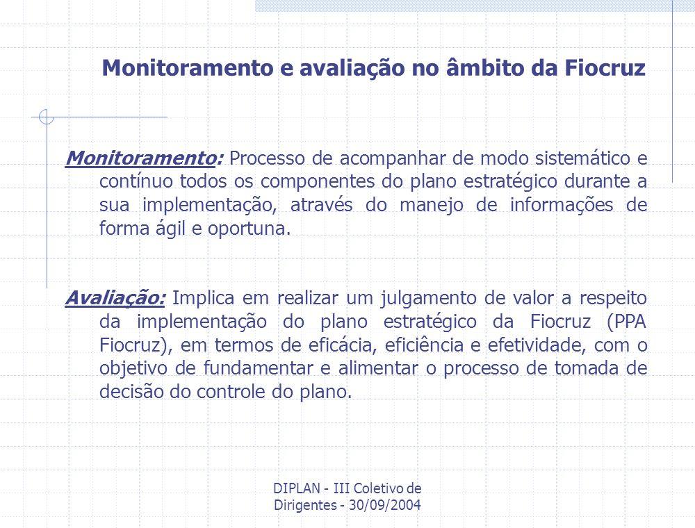 DIPLAN - III Coletivo de Dirigentes - 30/09/2004