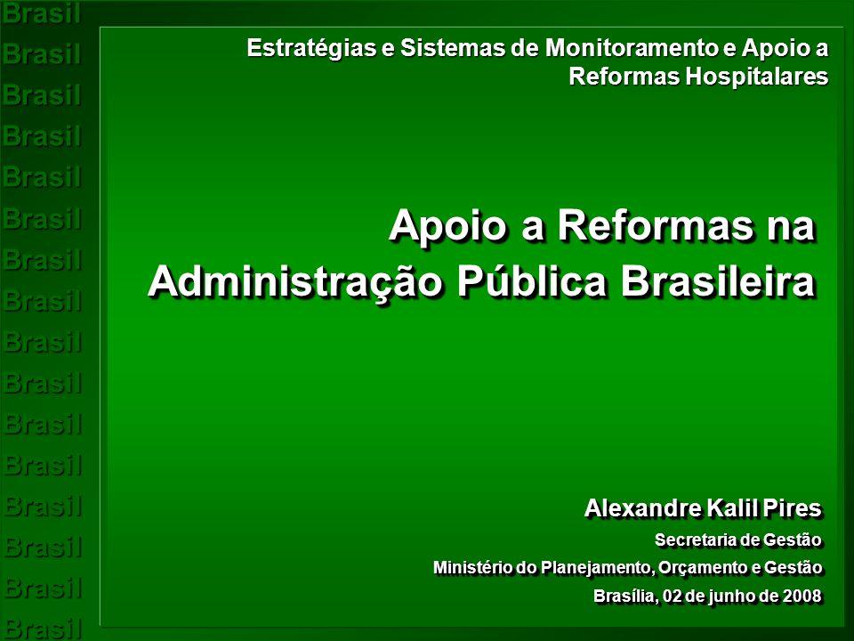 Apoio a Reformas na Administração Pública Brasileira