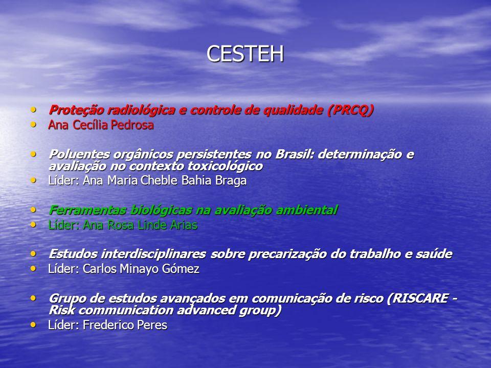 CESTEH Proteção radiológica e controle de qualidade (PRCQ)