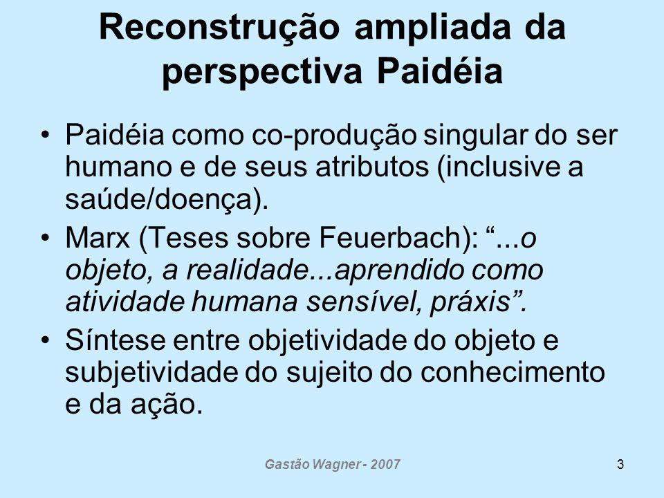 Reconstrução ampliada da perspectiva Paidéia