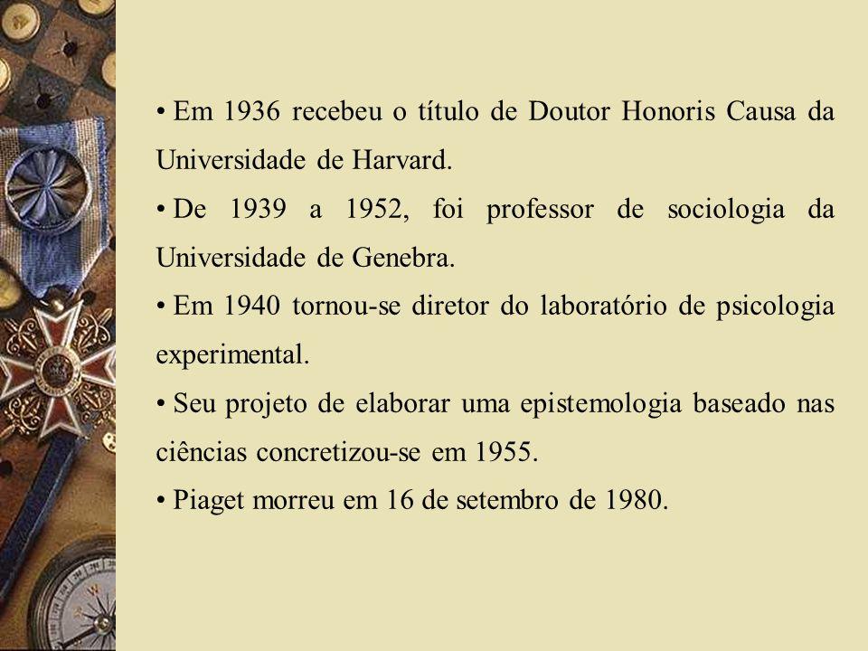 Em 1936 recebeu o título de Doutor Honoris Causa da Universidade de Harvard.