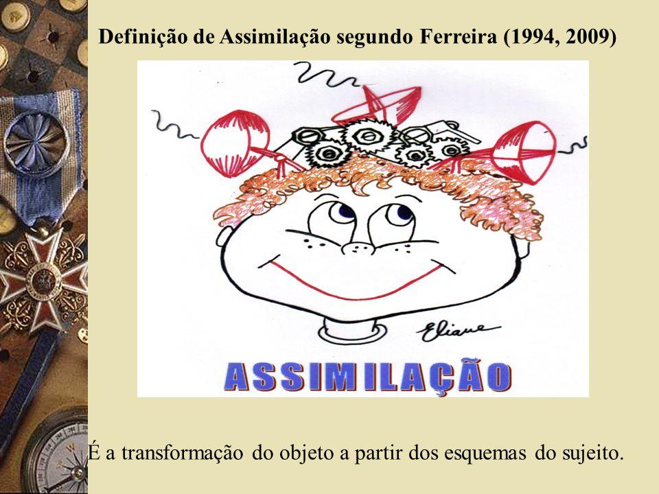 Definição de Assimilação segundo Ferreira (1994, 2009)