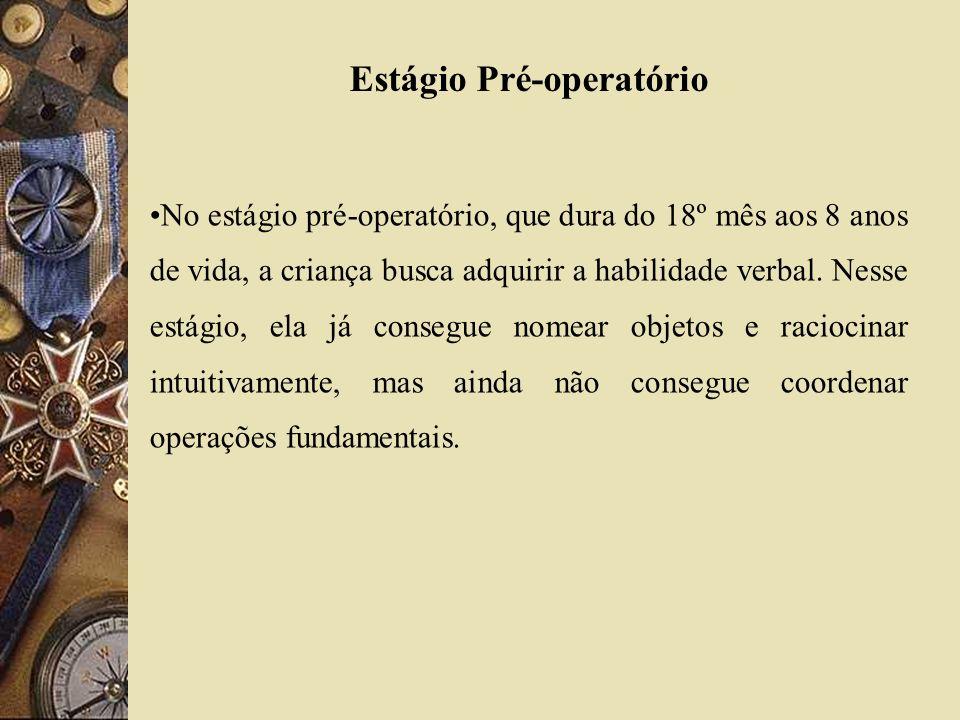 Estágio Pré-operatório