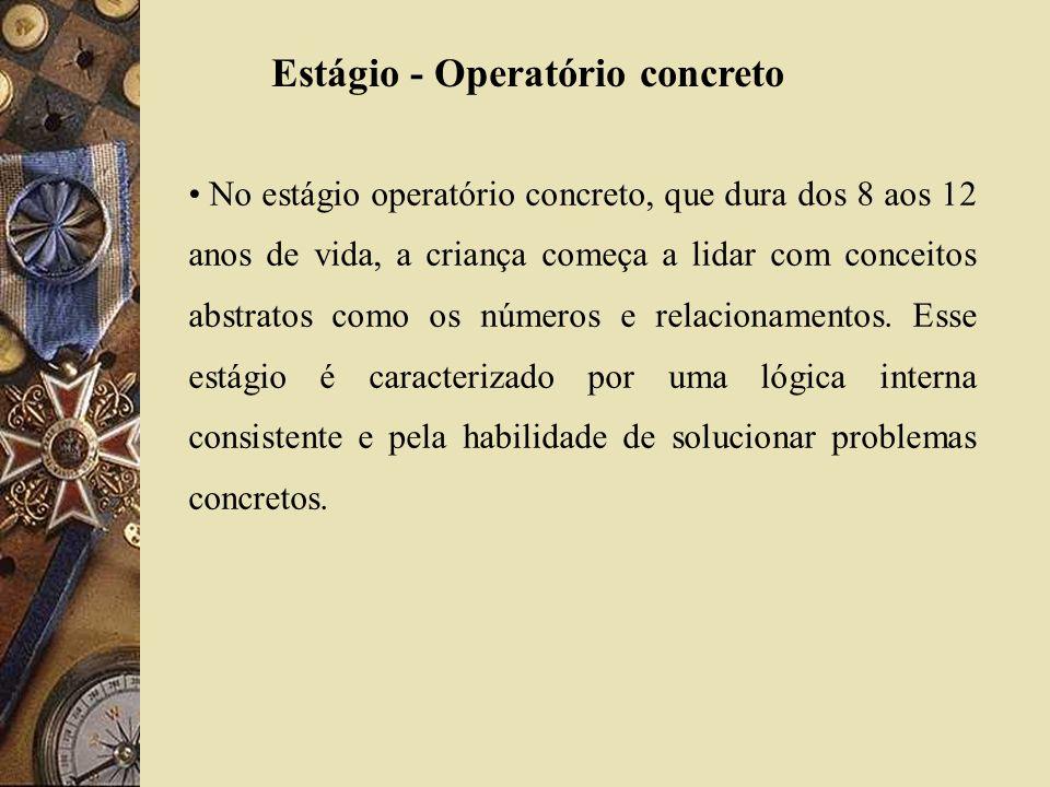Estágio - Operatório concreto