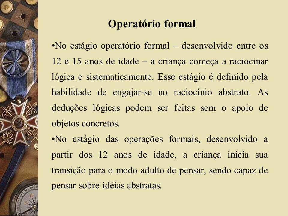 Operatório formal