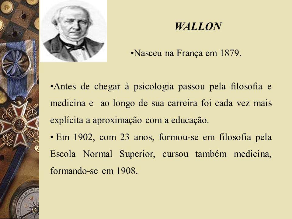 WALLON Nasceu na França em 1879.