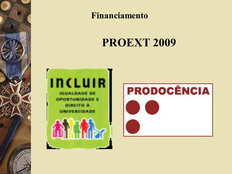 Financiamento PROEXT 2009