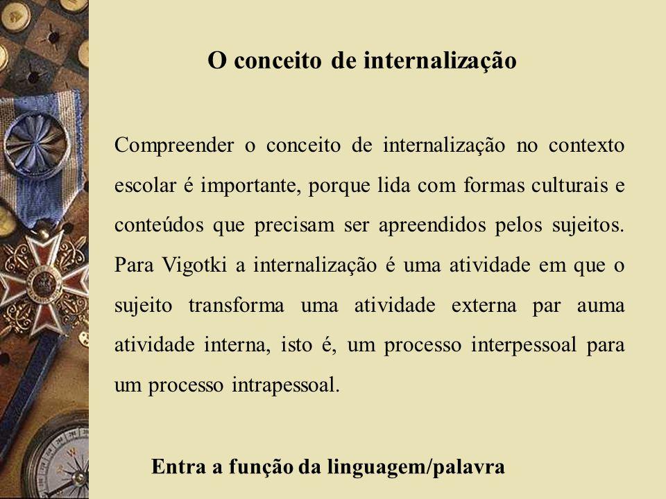 O conceito de internalização