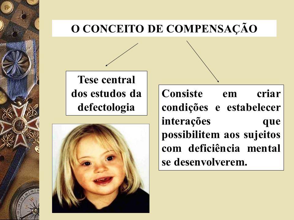 O CONCEITO DE COMPENSAÇÃO Tese central dos estudos da defectologia