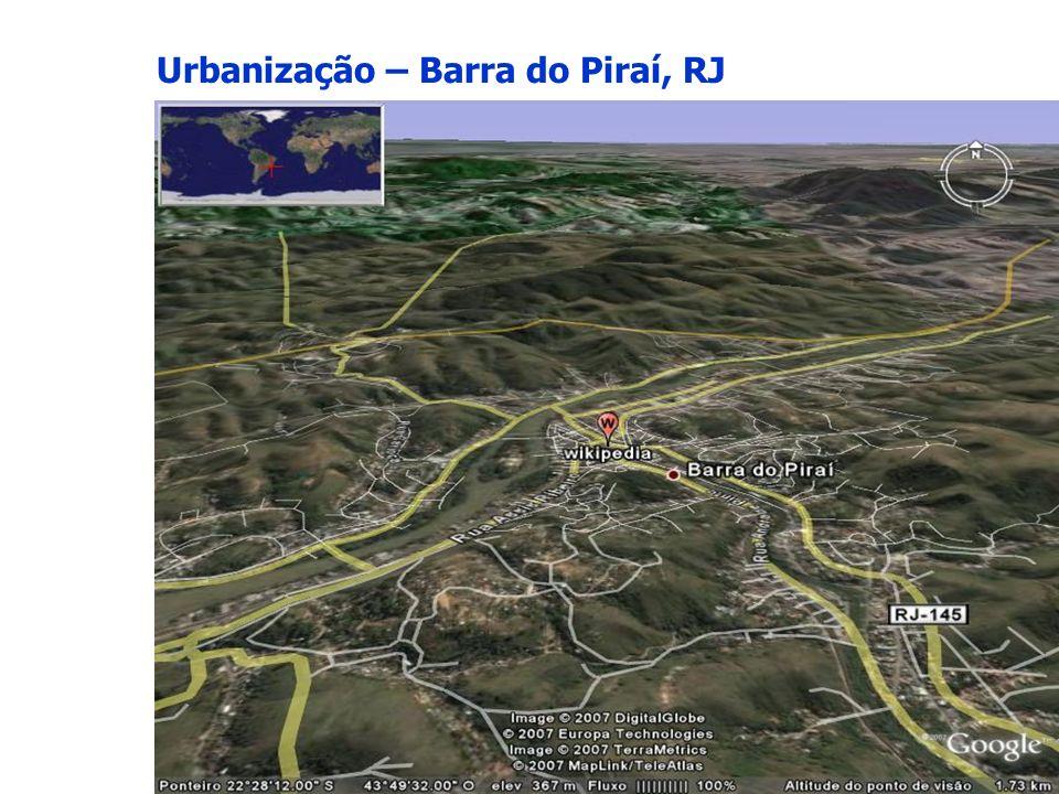 Urbanização – Barra do Piraí, RJ