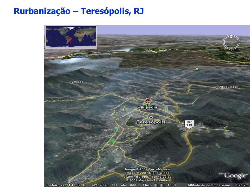 Rurbanização – Teresópolis, RJ