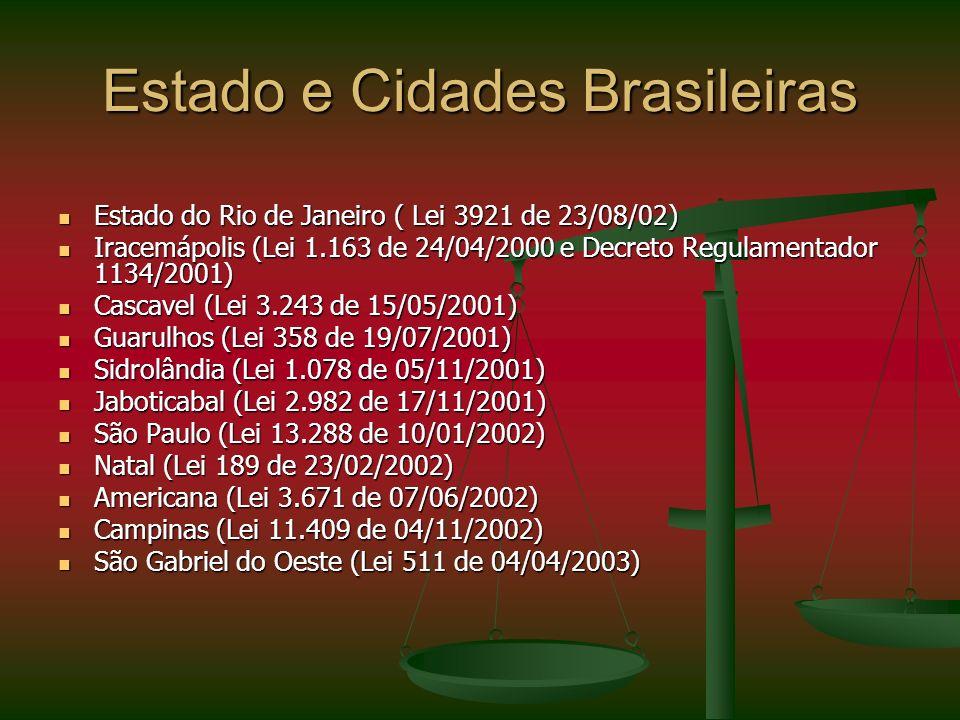 Estado e Cidades Brasileiras
