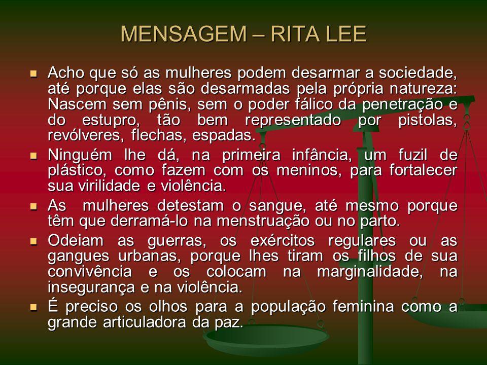MENSAGEM – RITA LEE