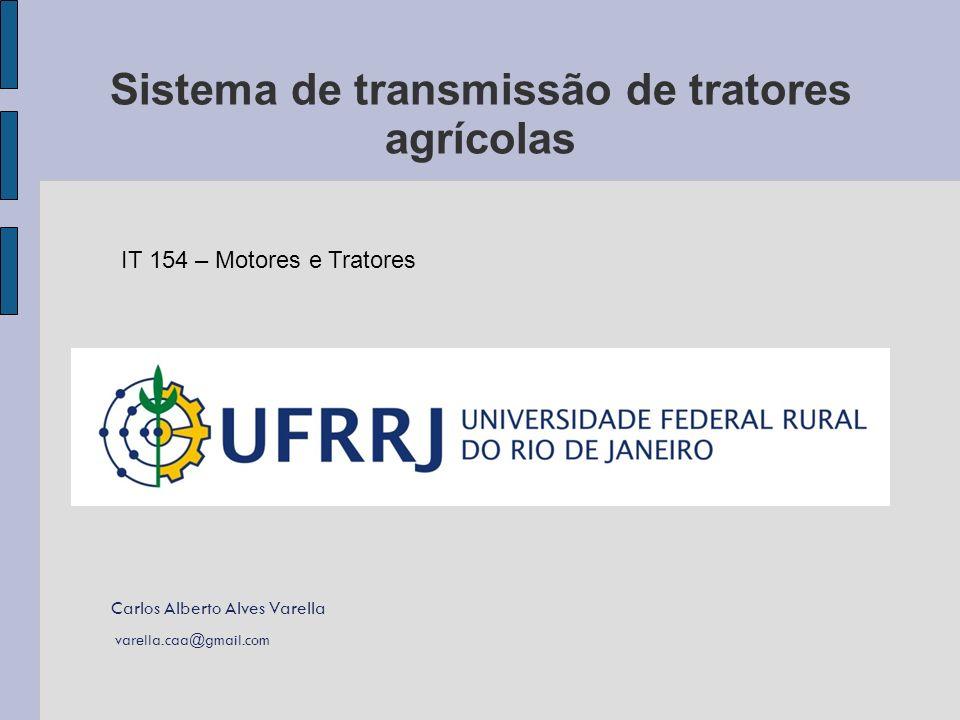 Sistema de transmissão de tratores agrícolas