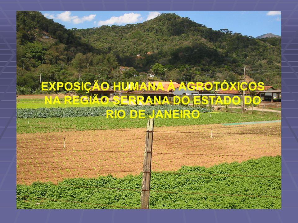 EXPOSIÇÃO HUMANA À AGROTÓXICOS NA REGIÃO SERRANA DO ESTADO DO