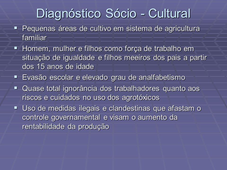 Diagnóstico Sócio - Cultural