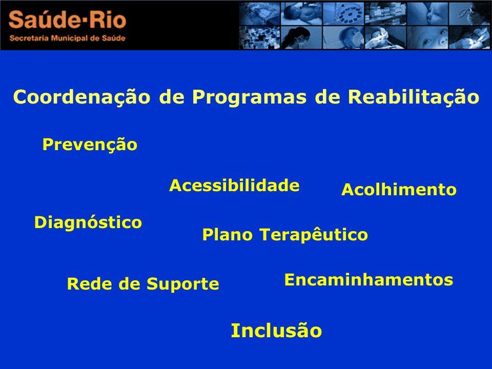 Coordenação de Programas de Reabilitação